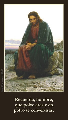 *SPANISH* Lenten Prayer Card